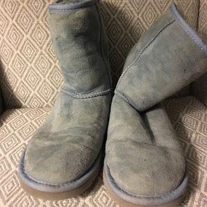 Powder Blue Classic Short Ugg Boots 6